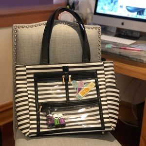 Piper Noble Presentation Stripped Tote